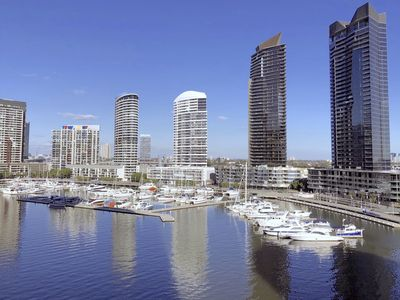 Photo for Pride Docklands Victoria Harbour Waterfront View Apartment LVII