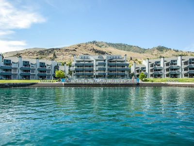 Photo for Bottom Floor at Peterson's Waterfront Resort on Lake Chelan