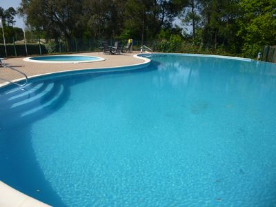 Photo for With swimming pool in the residence and 7 km beach, ocean, sea, House of 50m²