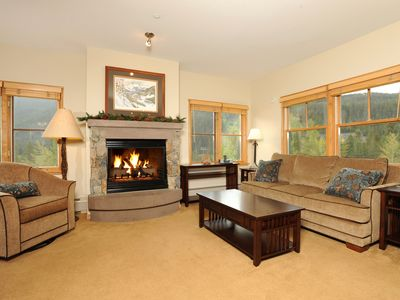 Photo for Alpine Getaway for 8! Private Balcony | Access Hot Tubs, Sauna, & Gym