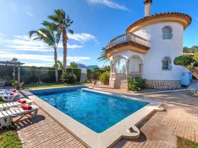 Photo for Miami Platja Holiday Home, Sleeps 6 with Pool, Air Con and Free WiFi