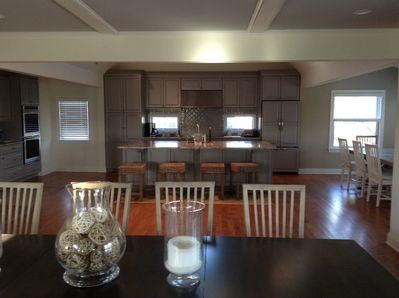 Full kitchen with double oven ,2 dishwashers ,cook top