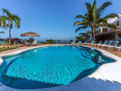 Photo for VILLA CASTILLO - Stunning Villa with 180 Sunset View of the Pacific Ocean