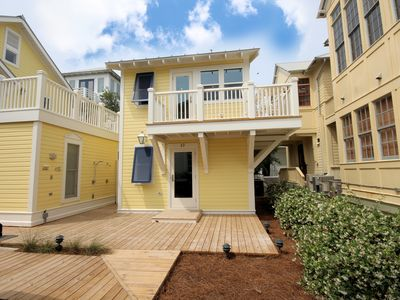 "Photo for In Seaside Proper ""How Sweet"" is a BRAND NEW 1 BR Guest Cottage!"