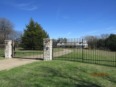 Photo for Beautiful Peaceful Rockwall Ranch