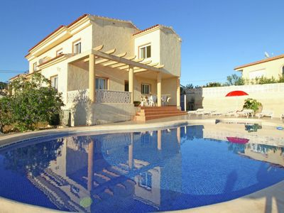 Photo for Detached villa with pool in Calpe great for families and friends