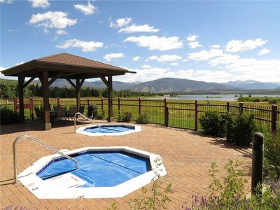 Photo for On Lake Dillon, Recreation Path. 2 Outdoor Spas, Garage, Elevator, Easy Access to Marina, Festivals