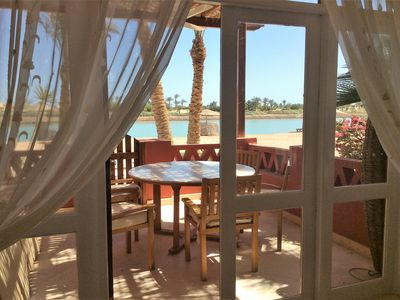 Photo for Vacation home in El Gouna - West Golf - with lagoon access and fascinating view
