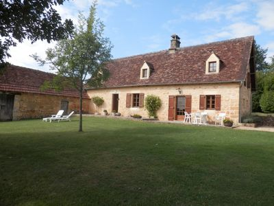 Photo for Renovated country house (6 people maximum): space, quiet, comfort, authenticity