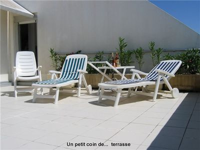 Photo for Very nice apartment. 5 rooms with terraces, 8 persons 150m. Beach