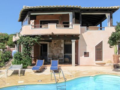 Photo for 3 bedroom Villa, sleeps 7 with Pool, Air Con and Walk to Beach & Shops