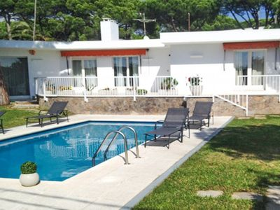 Photo for Club Villamar - Beautiful holiday villa with a nice private pool surrounded by lawn and located i...