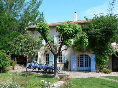 Photo for Espelida: Provençal farmhouse with pool and landscaped garden