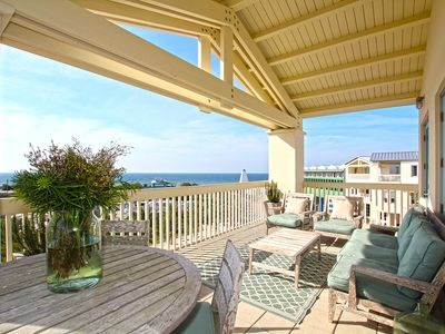 Photo for Stunning 2 BR Seaside, FL Condo Overlooking Town Square And Gulf