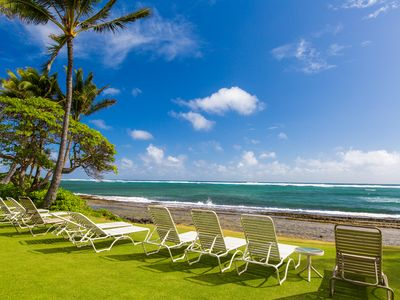 Photo for Kapaa Shore Resort #227, Oceanfront with Washer & Dryer.  Comp Wifi and Pkg!