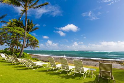 Beach Front Lounging - Enjoy one of the many beaches along Kauai's East Coast.