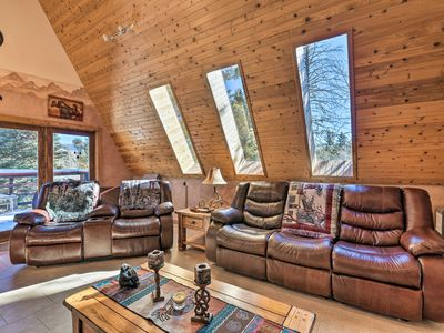 Photo for NEW! Cozy Angel Fire Cabin 10 Min from Ski Slopes!