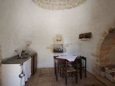 Photo for Vacation home Trullo Selva in Ceglie Messapica - 2 persons, 1 bedrooms