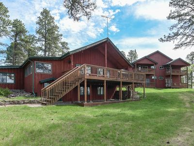 Photo for Large Private Home nestled on 27 beautiful Black Hills Acres with 10,000 S.F.