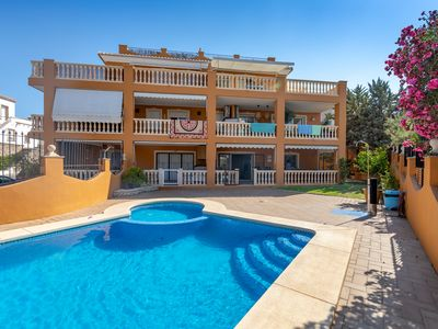 Photo for Superb 3 bedroom ground floor 20m from the sandy beach of Javea