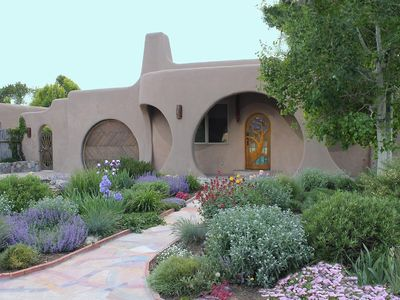 Photo for Luxury Mosaic Masterpiece: Santa Fe Hobbit House centrally located to SF Plaza