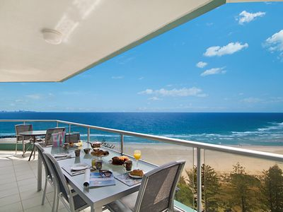Photo for Ocean Plaza Unit 1469 - Right on Coolangatta beachfront