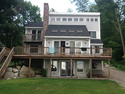 Photo for 4 BR/3 Bath Lakefront Sleeps 12