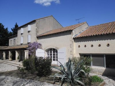 Photo for Unique *** cottage in the countryside near Arles, private pool not overlooked