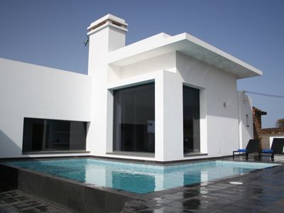 Photo for Luxury, stylish and contemporary 3 bedroom villa, free WiFi