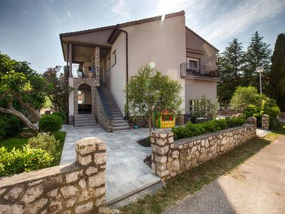 Photo for KRK CITY !!! 200m PROMENADE !!Romantic house, with small pool ...
