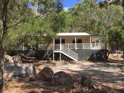 Photo for Holiday Heights - Holiday Heights 3 Bedroom Cottage in Halls Gap Bush Setting