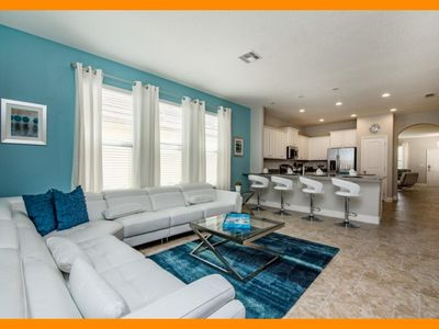 Photo for Solterra Resort 49 - Exclusive villa with private pool & game room near Disney