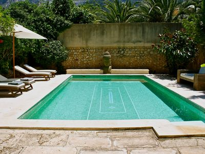 Photo for Luxury Town Villa With Big Pool and Garden, View Over Mountains, 2 Min Far From