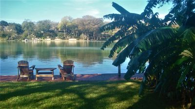 Photo for Large waterfront house in New Braunfels located on Lake Dunlap