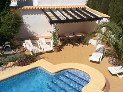 Photo for Quiet, Comfortable, Well Equipped Two Bed Villa With Private Pool In Orba valley