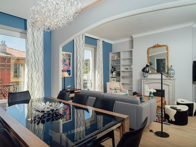 Photo for Luxurious 4 bedroom A / C apartment on the Old Port of Nice, renovated in 2017, air conditioning