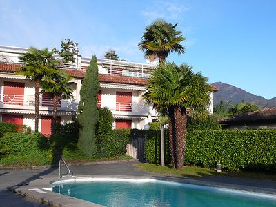 Photo for 2 bedroom Apartment, sleeps 4 in Ascona with Pool