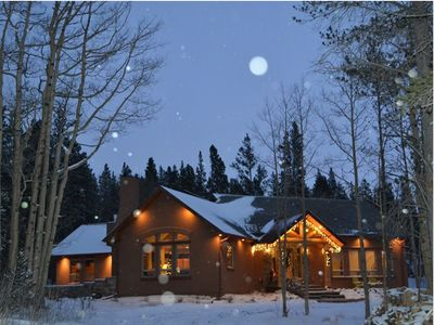 Photo for Large Family Lodge South of Breckenridge on quiet, wooded acreage
