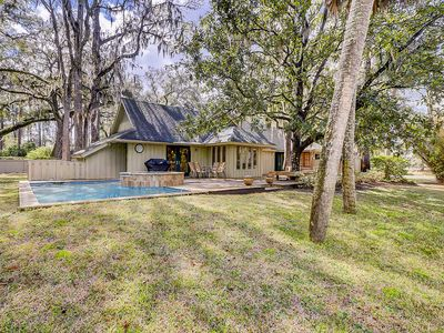 Photo for Spacious Sea Pines home w/ private swimming pool, spa, deck & pool table!
