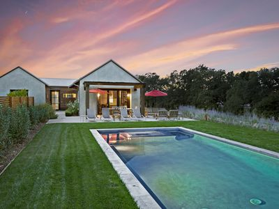 Photo for Limerick Lane Stunning, contemporary, single-level, eco-friendly home