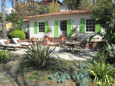 Photo for Santa Monica Beach & Canyon Cottage- Lush & Private- Walk To Restaurants & Beac