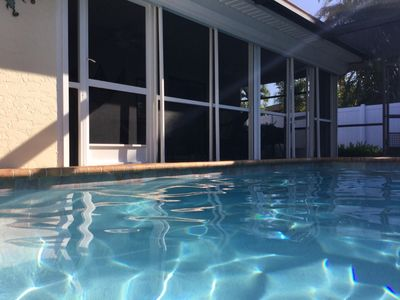 Photo for Renovated 3BR w/ Heated Saltwater Pool & Private Backyard