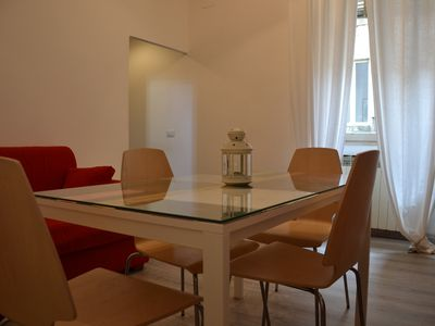 Photo for central apartment, just steps from the Duomo and the Teatro, with balcony .