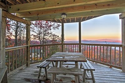 Find peace and tranquility at this Gatlinburg vacation rental cabin!