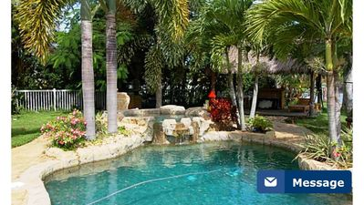 Photo for *Ahh^ VACATION** Private Tropical Oasis Punta Gorda 170 feet of canal/River View