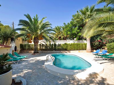 Photo for Nice apartment for 8 guests with private pool, TV, pets allowed and parking