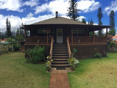 """Photo for Lanai City, Modern Plantation Style Home, """"HQ"""" of the ADVENTUREOUS Sort."""