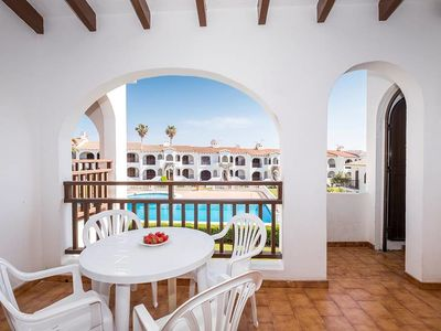 Photo for Apartment in a well-maintained complex with pool - Girasol Garden Superior 2