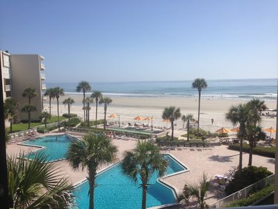 Photo for 2BR/2BA Direct Oceanfront with breathtaking views!! w/ washer& dryer in unit.