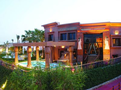 Photo for A amazing 5 bedroom villa right on the Red Sea offering a great experience